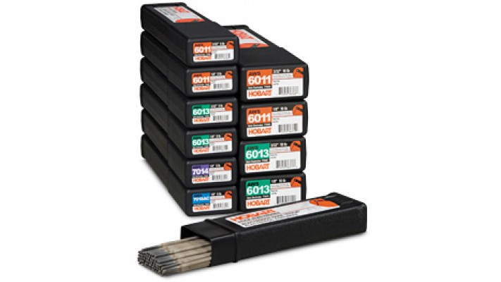 Hobart stick 6013 3/32 stick electrode in 10 lbs box. (price/lb)