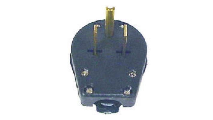 Plug male 230 volts